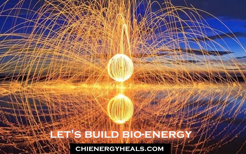 Bio Energy Buildup Of Strong Good Feeling Energy